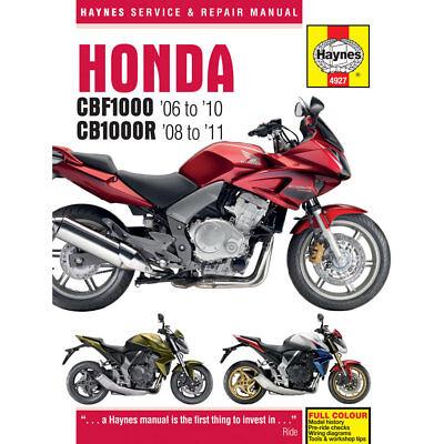 Honda CBF1000 2006-10 CB1000R 2008-11 Haynes Workshop Manual