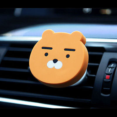 Kakao Friends RYAN Magnetic Car Vent Holder All Mobile iPhone/Galaxy/HTC/LG