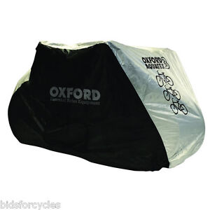 OXFORD AQUATEX WATERPROOF TRIPLE 3 BIKE BICYCLE CYCLE SCOOTER RAIN COVER
