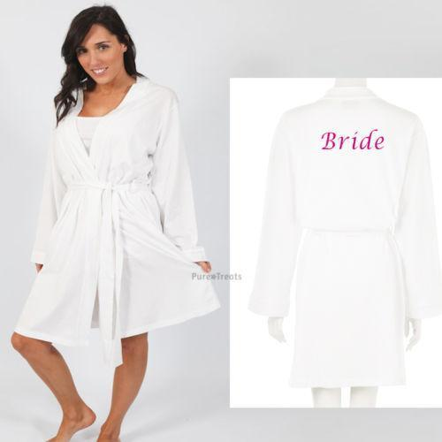 Bride Dressing Gown: Clothes, Shoes & Accessories | eBay