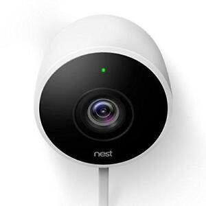 Nest Cam Wi-Fi Outdoor 1080p IP Camera - White