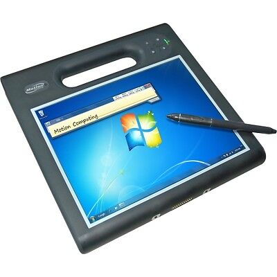 "Motion F5t 10.4"" Tablet PC i5-3317U 4GB 64GB WIN7 BT Webcam Medical Stylus Slate"