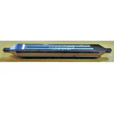 4 - Center Drill - Carbide - 60 Degree - 2-12 Long - Usa - Htc 585-1250 I1