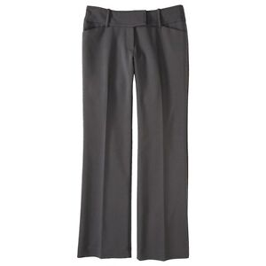 Mossimo® Women's Refined Flare Pant (Modern Fit) - Gray