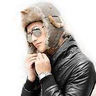 Bomber Fur Hats for Men