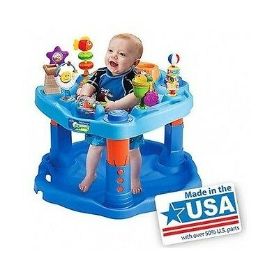 Baby Activity Saucer Bouncer Center Toy Play Seat Exerciser Chair Stationary