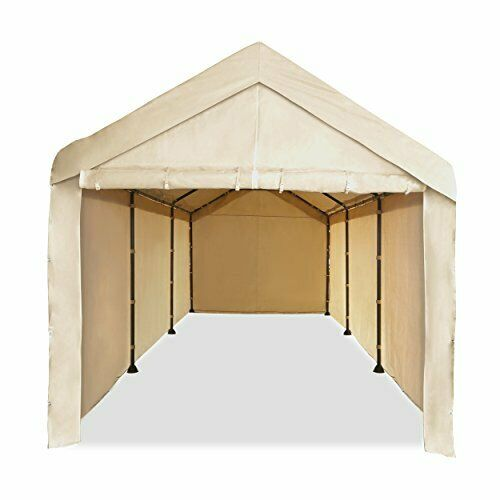 10X20 Garage Tent Carport Car Shelter Sidewall Canopy Carava