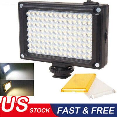 US Rechargable LED Video Light Lamp Photo Studio Wedding Party for DSLR Camera g (Camera Video Light)