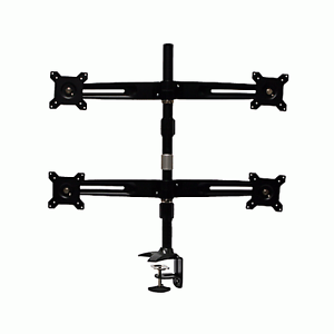 """15-24"""" 8kg Quad 4 LCD Screen Computer Monitor Mount Stand with Cl Concord Canada Bay Area Preview"""