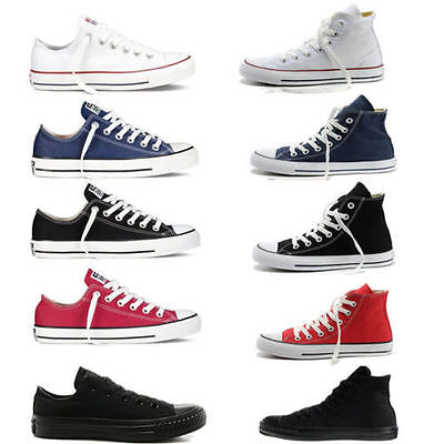 New All Stars Men S Chuck Taylor Ox Low High Top Shoes Casual Canvas Sneakers  A