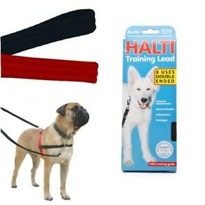 Halti-Dog-Puppy-Multi-Functional-Training-lead-Black-Includes-Training-Guide