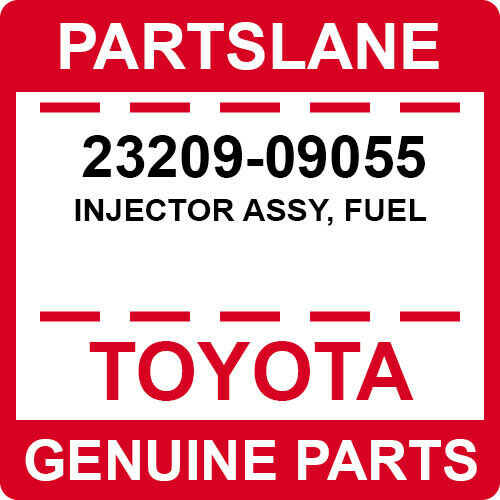 23209-09055 Toyota Oem Genuine Injector Assy, Fuel