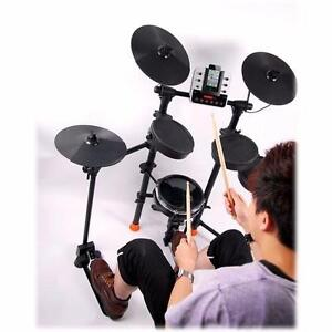 NEW iRocker Jammin Pro Electronic Drum Set with iPhone Ready Dock (openbox)