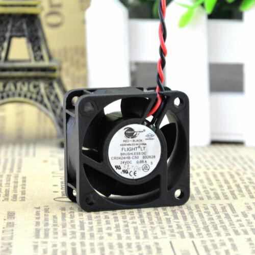 1pcs COMAIR ROTRON CR0424HB-C50 40*40*20mm DC 24V 0.09A axial fan