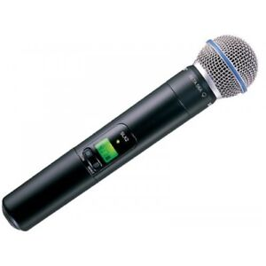 Shure SLX2/BETA58 Wireless Handheld Transmitter with BETA58A Mic