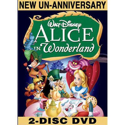 Disney Alice in Wonderland - New DVD, 2-Disc Set, Un-Anniversary Special Edition