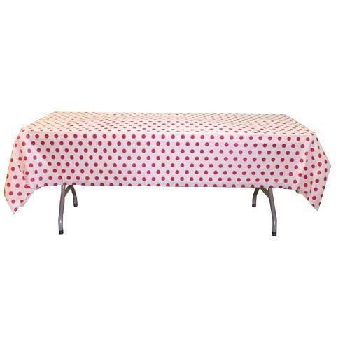 Red Polka Dot Tablecloth Ebay