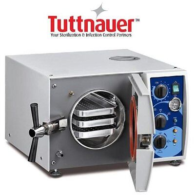 New Tuttnauer 1730 Valueklave Autoclave Fda Approved For Dental And More