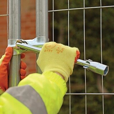 3 Prong Security Wire Site Fencefencing 716w Scaffold Spanner Anti Tamper