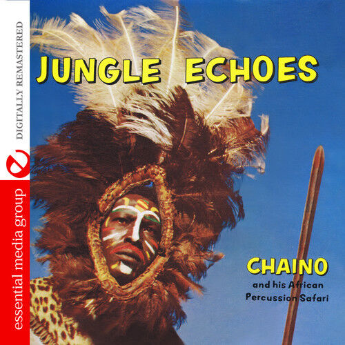 Chaino & African Percussion Safari - Jungle Echoes [New CD] Manufactured On Dema