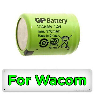 Genuine GP Battery for Wacom Inkling Digital Pen MDP-123 Original Replacement