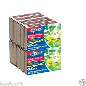10-PACKS-DIAMOND-STRIKE-ANYWHERE-MATCHES-32-COUNT-320-Matches-NEW