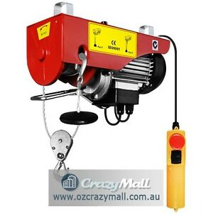 15m Rope 240V Electric Hoist Winch Melbourne CBD Melbourne City Preview
