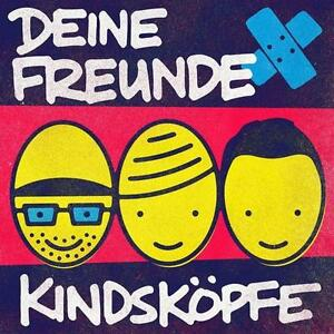 DEINE FREUNDE - KINDSKÖPFE    - CD NEU