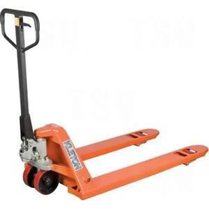 Hydraulic Pallet Jack Truck Fork Length 48 Frame Width 27 Capacity 5500 LBS (4 Brand New in Stock)