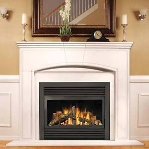 """Continental by Napoleon 33"""" GAS FIREPLACE - Direct Vent"""