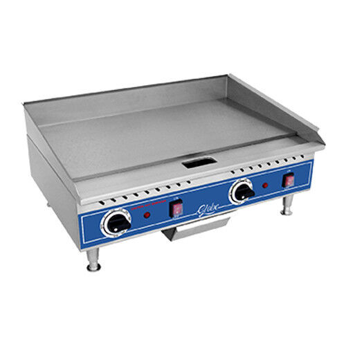 "Globe Pg24e 24"" Electric Countertop Griddle"