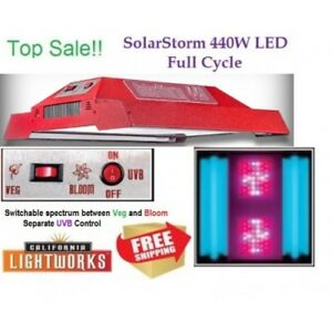 T&T Hydroponic: LED SolarStorm 440W Full Cycle - FREE SHIPPING