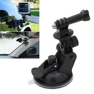 New GoPro Car Suction Cup + Tripod Mount Adapter GoPro