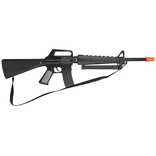 NEW Gonher US M-16 Style Cap Gun Rifle - Black Finish RARE