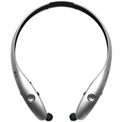 LG Tone Infinim HBS-900 Bluetooth Headphones, Silver & Black Harman / Kardon