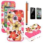 iPhone 4 Case Rubber Flower