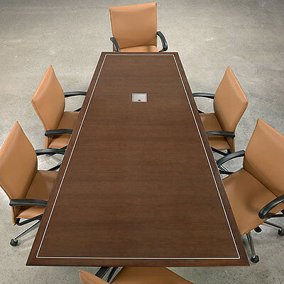 6 - 24 Conference Room Table Modern Boardroom Meeting Designer Office Usa Made