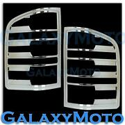 Chevy Truck Tail Light Covers