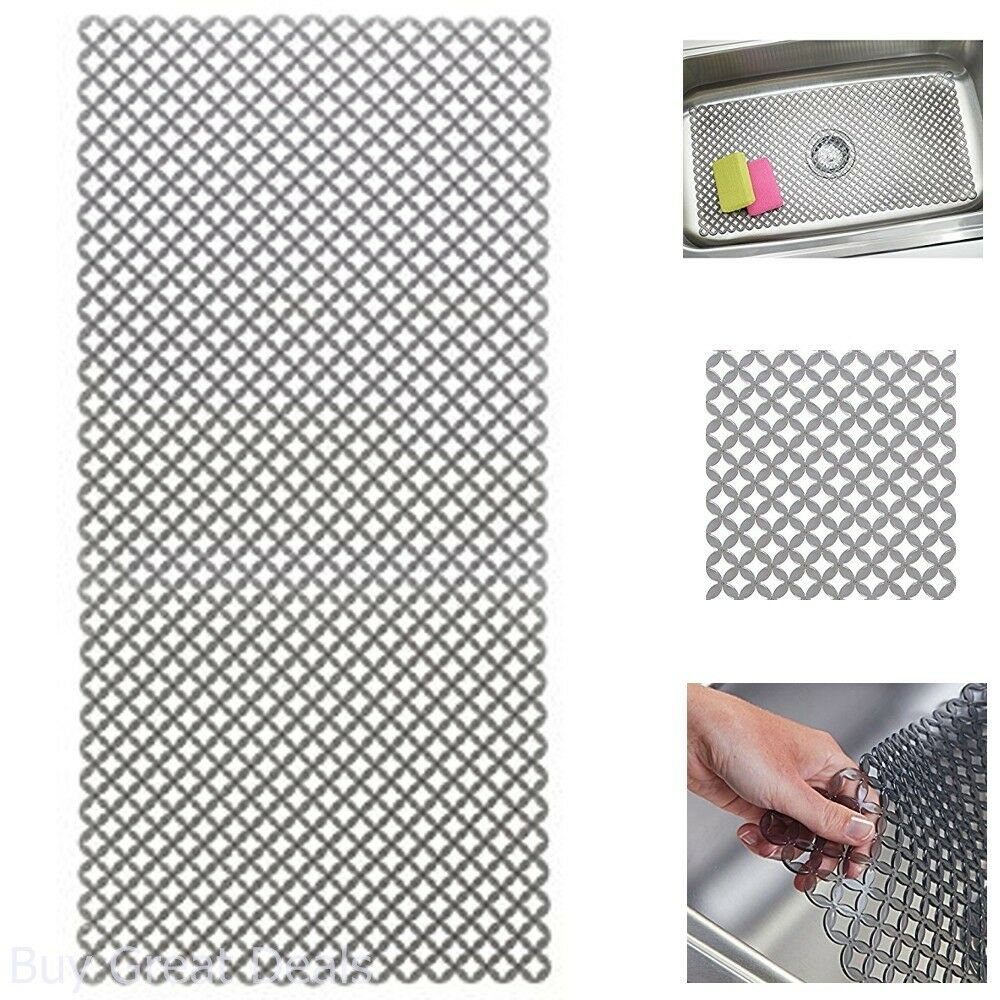 Sink Protector Mat For Kitchen Sinks Extra Large 12 X 25in