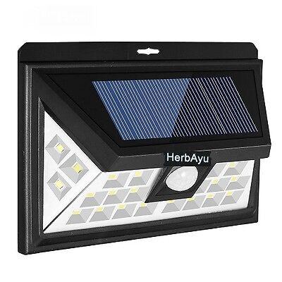 24 LED Solar Motion Sensor Light Wireless Outdoor Garden Security Night Lamp USA