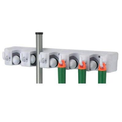 12er Gerätehalter Wand Halterung Besenhalter Werkzeughalter Garten Geräteleiste