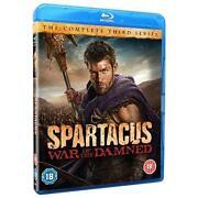 Spartacus Blu Ray