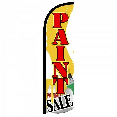 Paint Sale Swooper Flag Only Windless 3 Wide Sign Banner