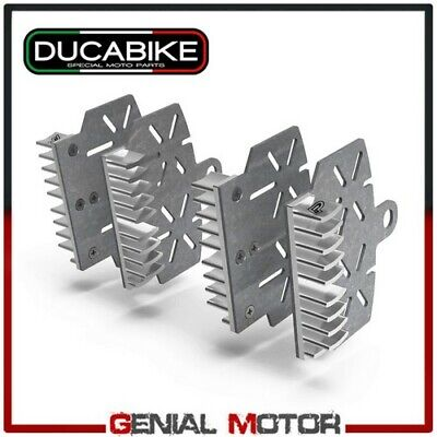 Brake Plate Heat Sink Silver BPR04G Ducabike Hypermotard Low Seat 821 2015