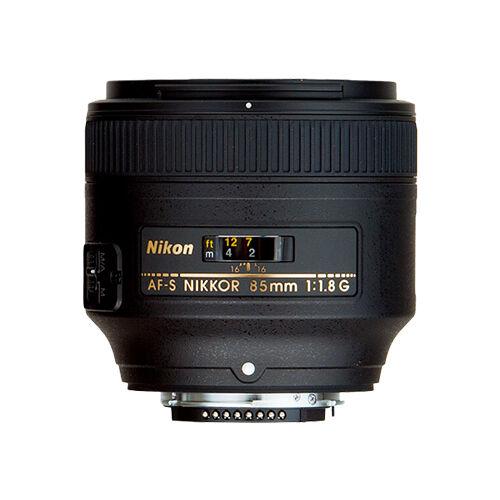 Nikon AFS NIKKOR 85mm f18G Lens