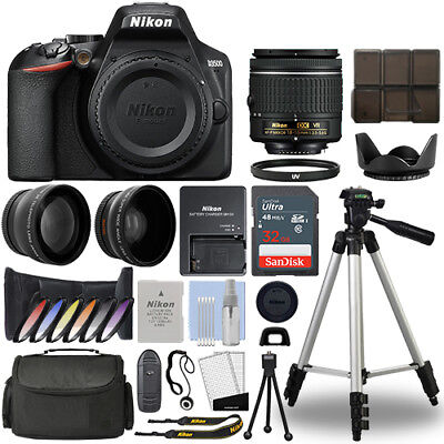 Nikon D3500 Digital SLR Camera + 18-55mm VR 3 Lens Kit + 32GB Best Value