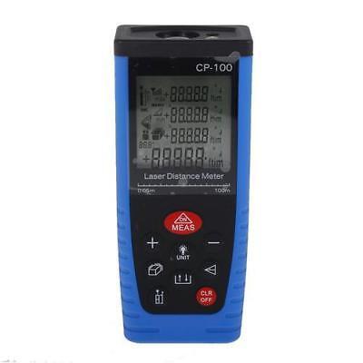 100m 328ft Cp-100 Laser Distance Meter Range Finder Distance Measure Blue