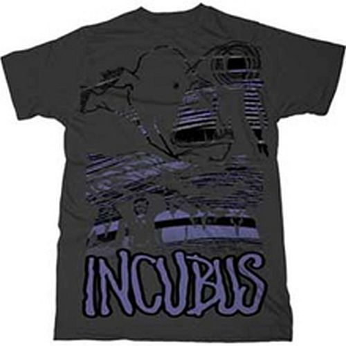 Incubus Look Alive T-Shirt Grey XXL Rock & Roll Funk Indy New