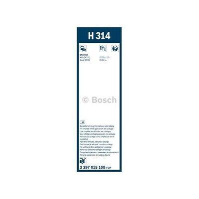 Wischblatt BOSCH 3 397 015 100 Rear passend für CHEVROLET, hinten