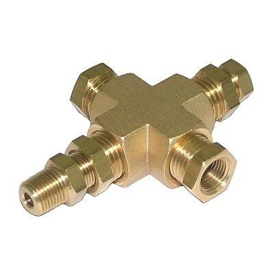 Ölfilter Sandwich Adapter Platte 1//8 NPT Öltemperatur Sensor M18 M20 M22 3//4-16